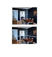 White Or Black Chair Rail?