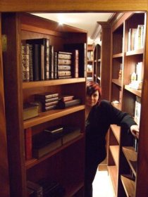 Holly Black's Secret Library Door Open