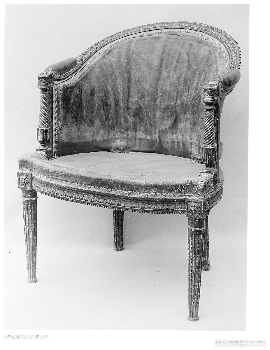 Fauteille Bureau Desk Chair Fauteuil De Bureau French The Met