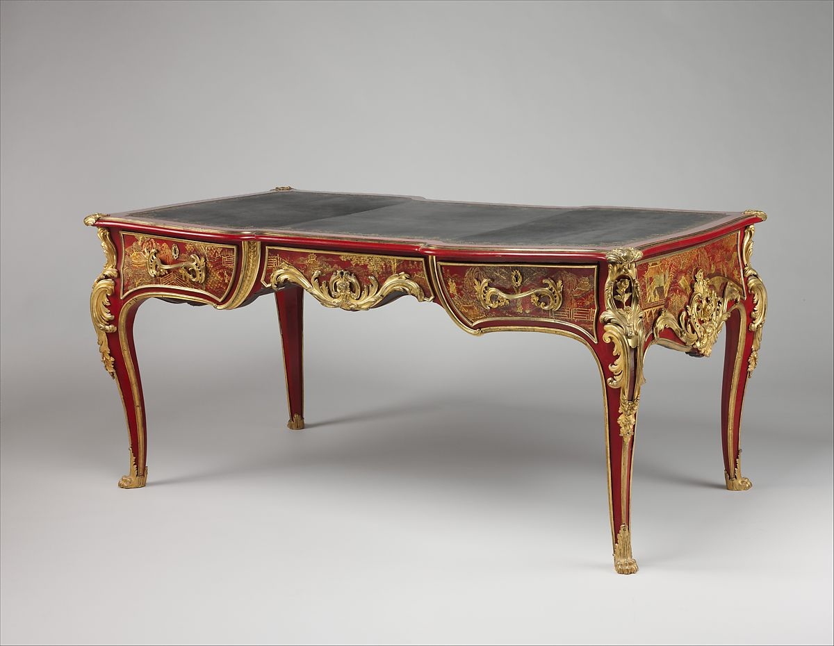Sofa With French Writing Gilles Joubert Writing Table Bureau Plat French Paris The Met