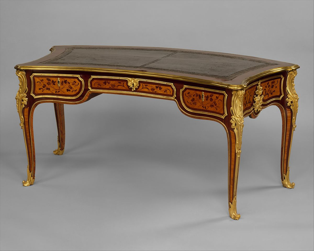 Sofa With French Writing Joseph Baumhauer Writing Table Part Of A Set French The Met