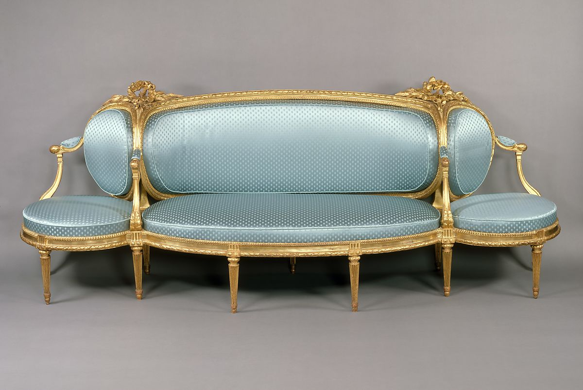 Canape Sofa Claude I Sené Sofa Canapé à Confidents French The Met