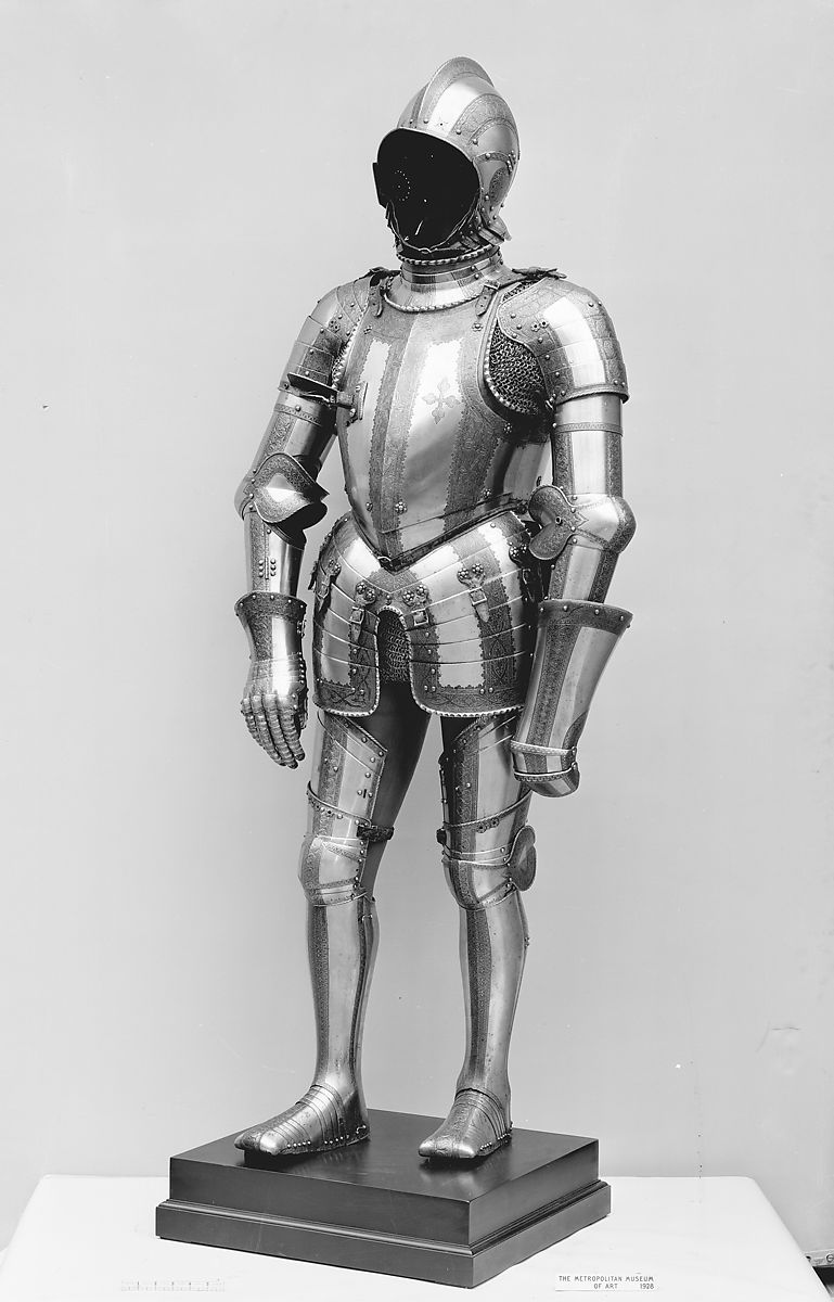 Elements Augsburg Helmet Arm Defenses Gauntlets And Leg Defenses By Wolfgang