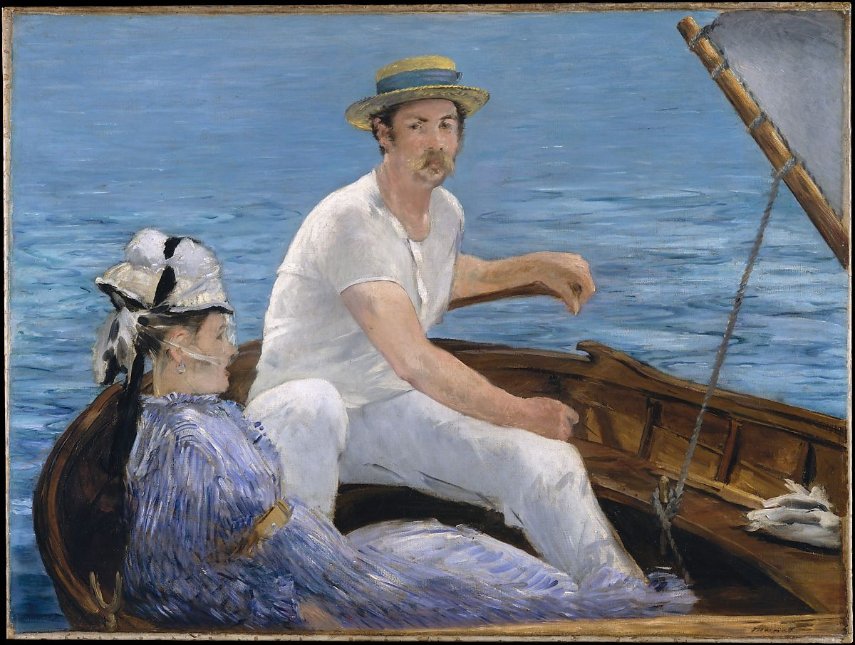 Point P Argenteuil Edouard Manet Boating The Met