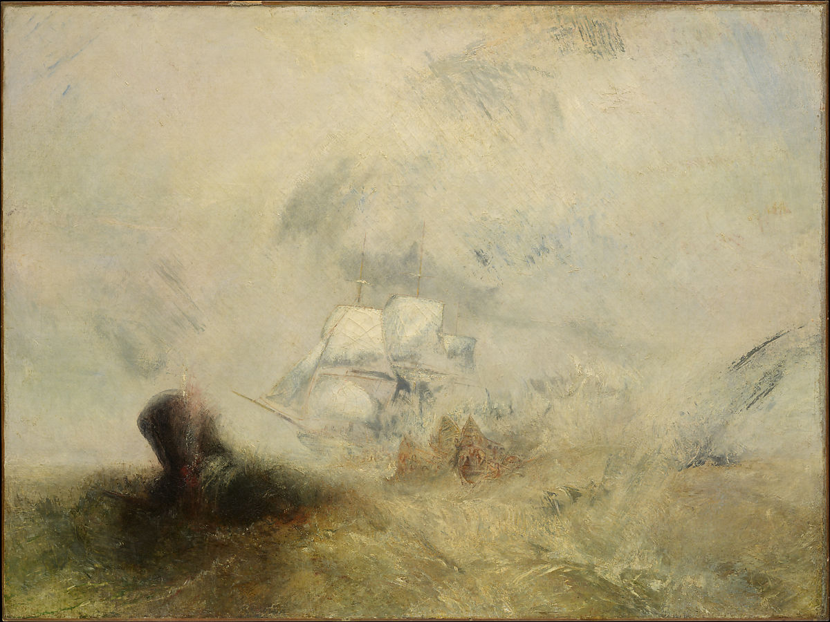 Cuadros Turner Joseph Mallord William Turner Whalers The Met