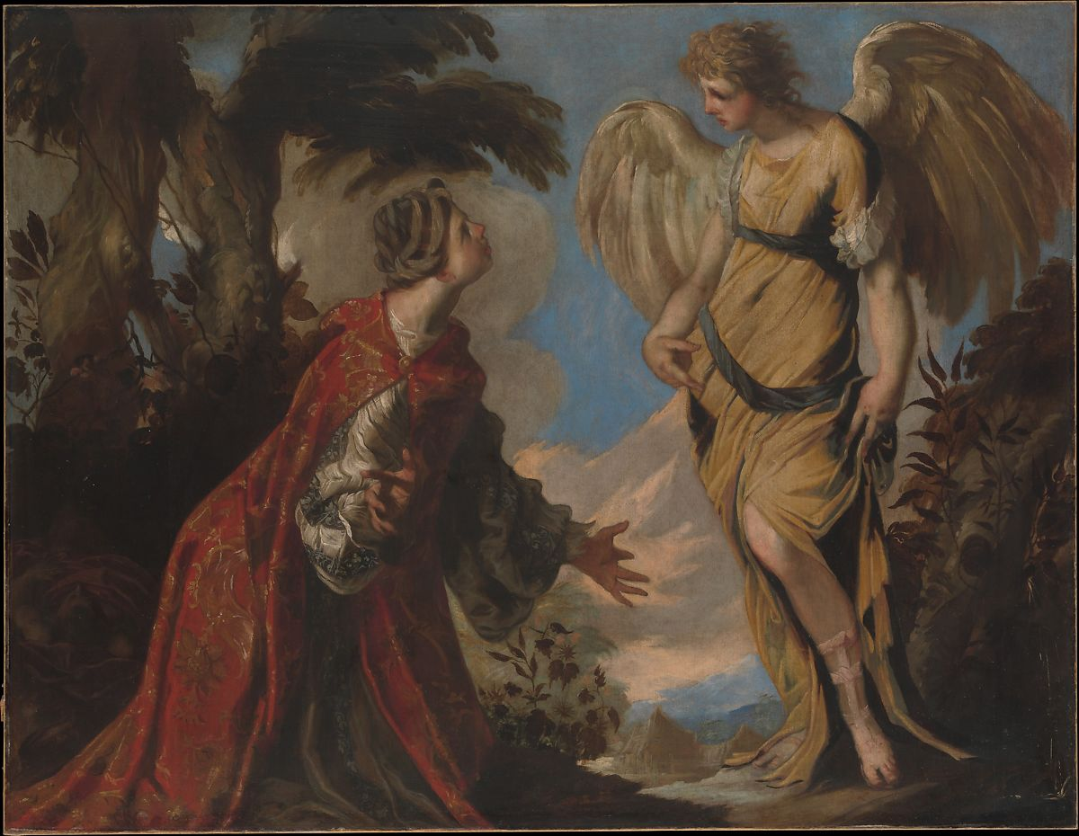 Pittori San Marco Vicenza Francesco Maffei Hagar And The Angel The Met