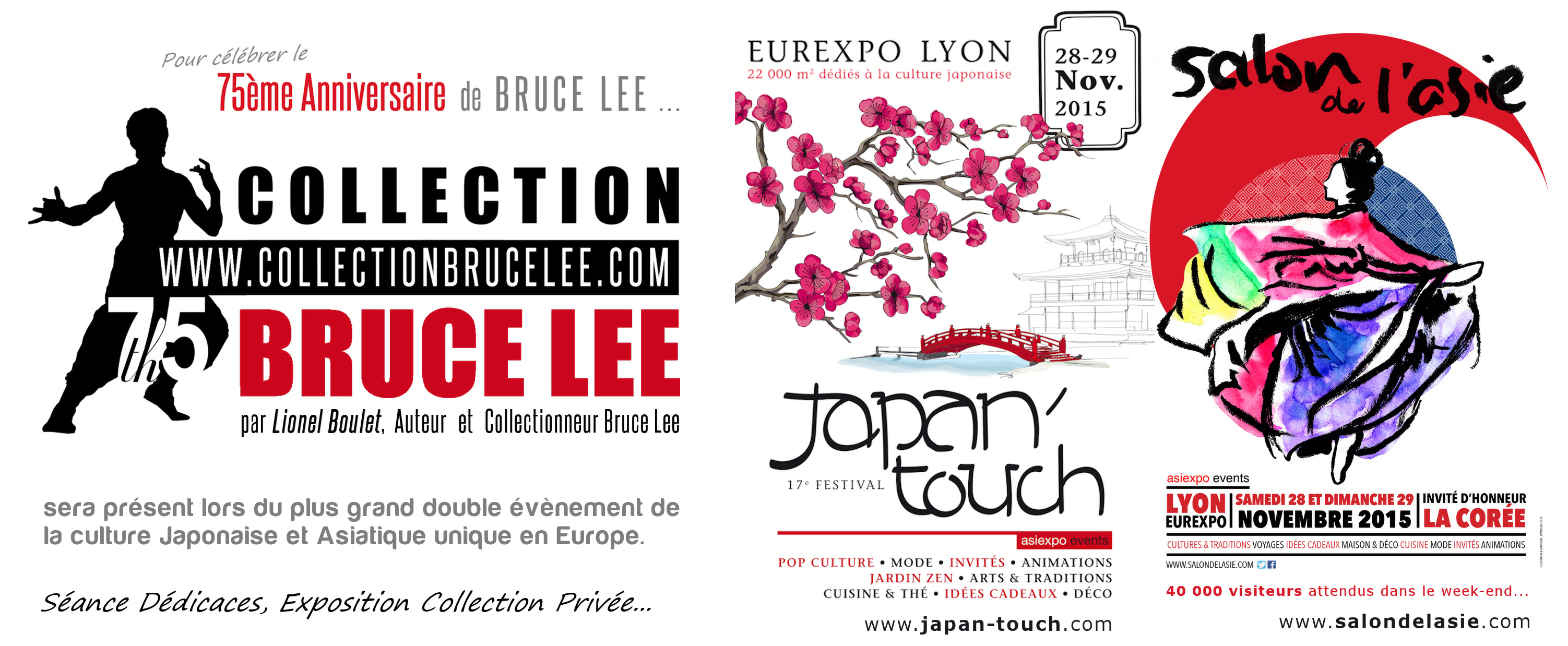 Magasin Déco Asiatique Lyon Collection Bruce Lee My Event 28 29 11 2015
