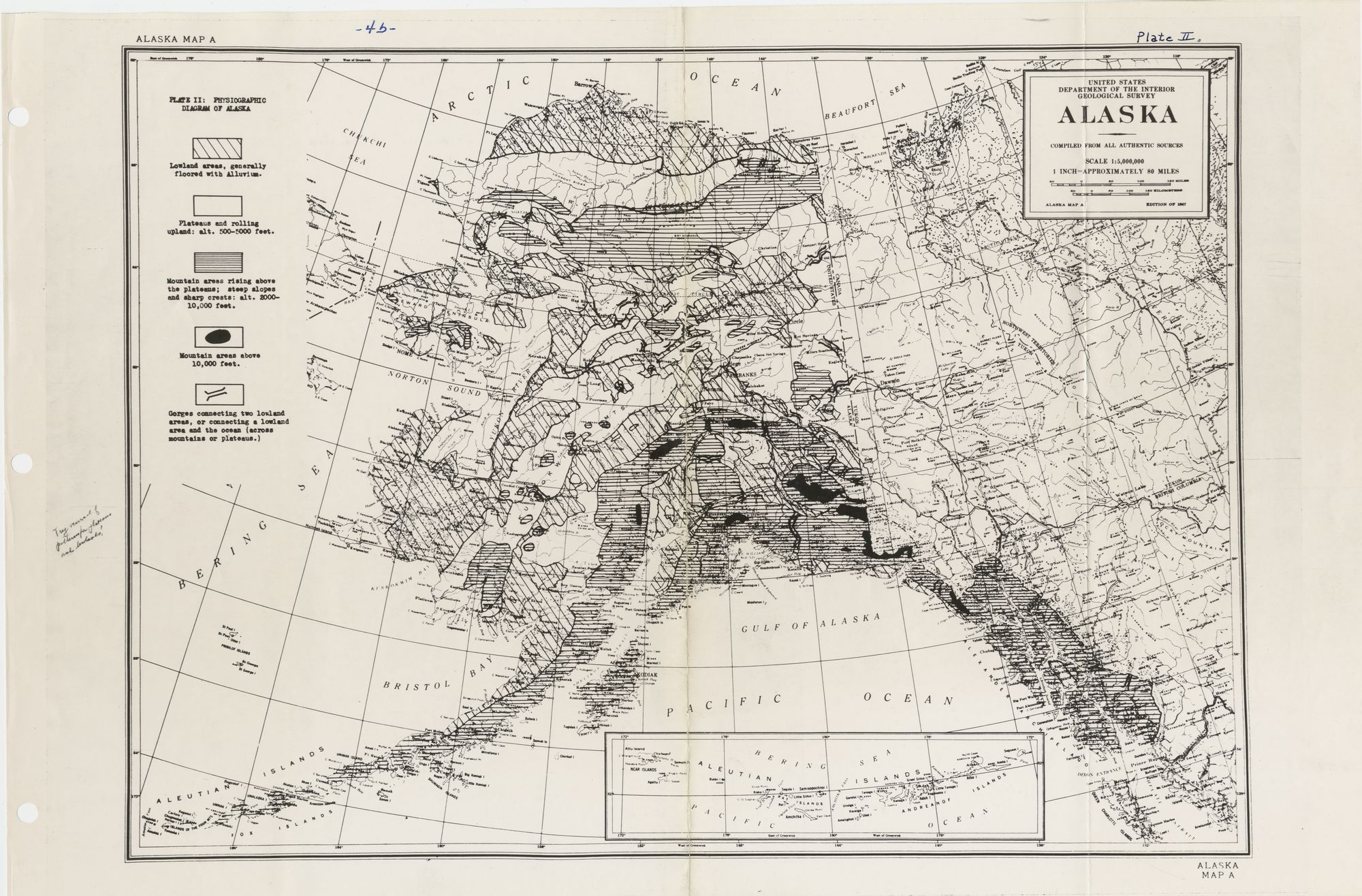 Glasregal Zigzag+atlas Physiography Of Alaska Encyclopedia Arctica Volume 1 Geology And