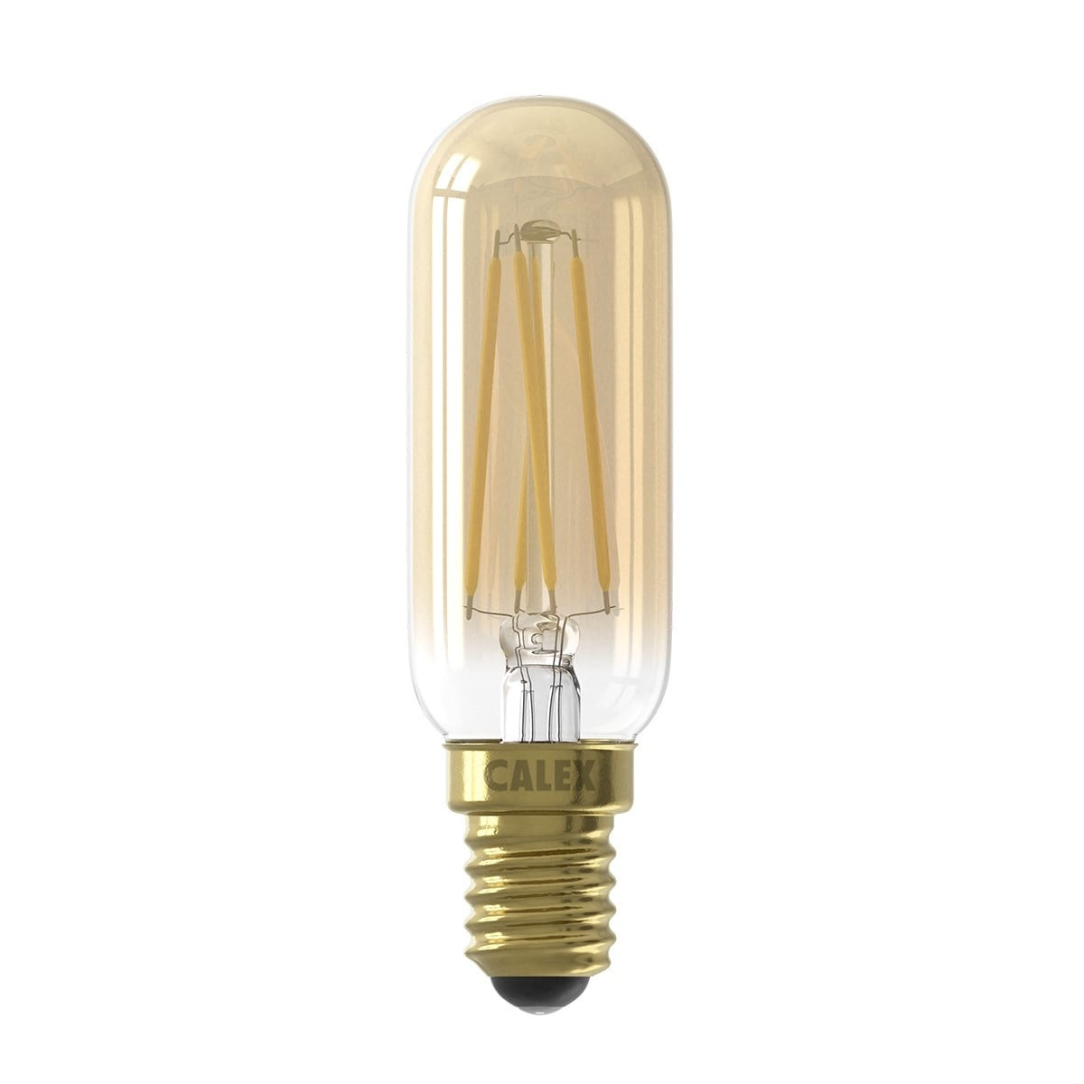 Calex Goldline Calex Filament E14 Led Small Tubular Bulb Warm White Dimmable