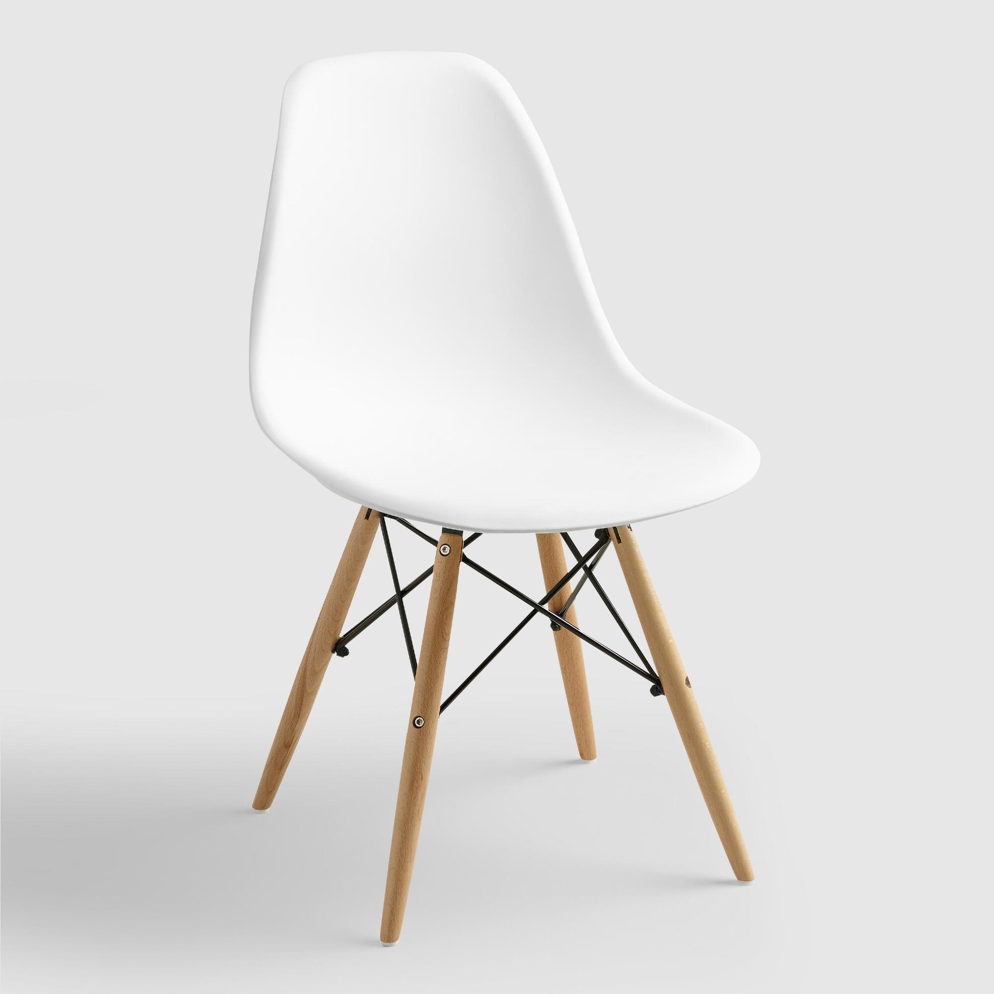 Eames Chair Beige Eames Chair White