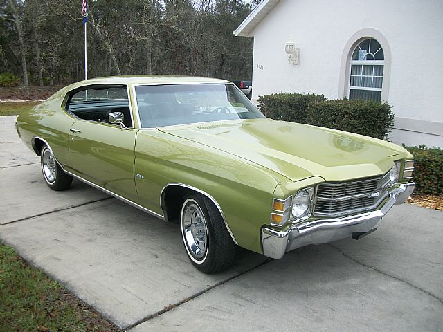 Protec Car 1971 Chevrolet Chevelle Malibu For Sale Beverly Hills, Florida