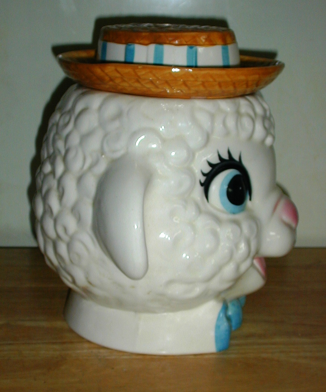 Nice Cookie Jars Lamb Bust By Metlox Collector Cookie Jar Collector