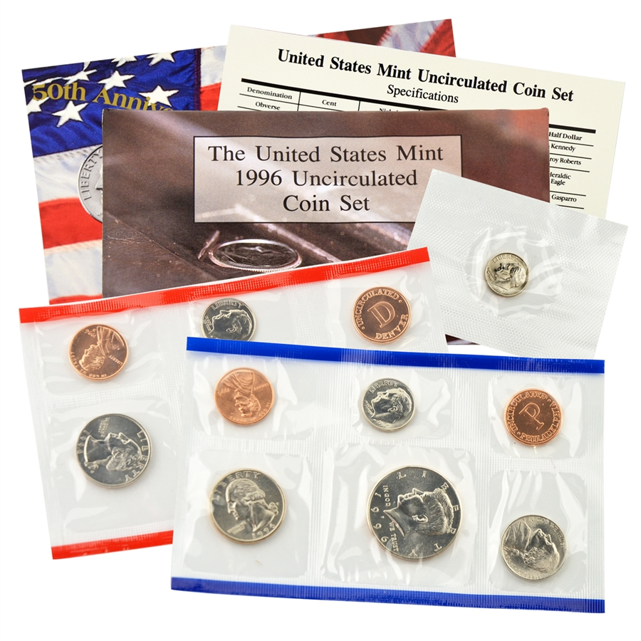Mint Set 1996 Us Mint Set