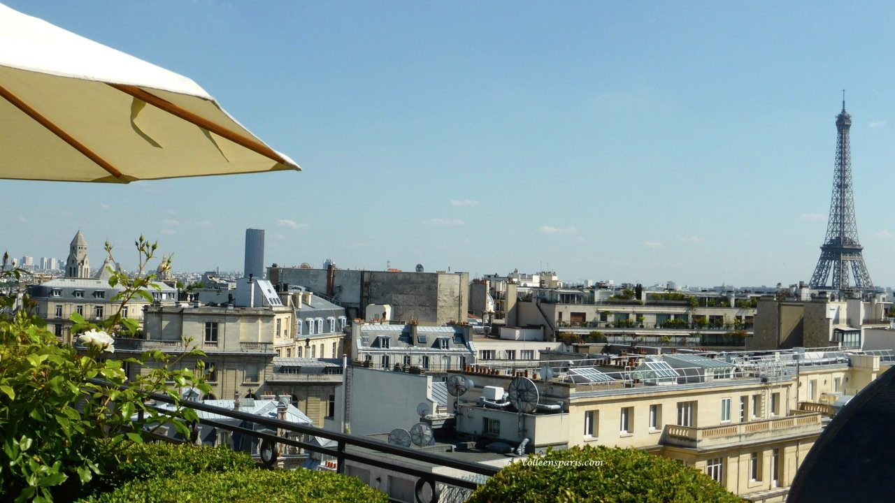 Terrasse Hotel Paris Eiffel Tower From Hotel Raphael La Terrasse Bar Paris Colleen S