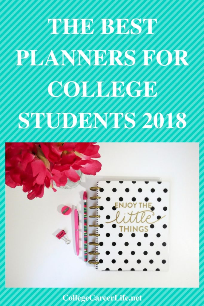best planners 2018 for college students - Yelommyphonecompany