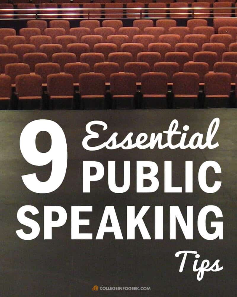 Public Tips 9 Tips For Becoming A Great Public Speaker