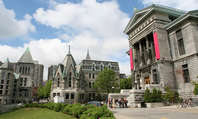 Mcgill University Downtown Campus Collegetimes - Online College Courses Quebec