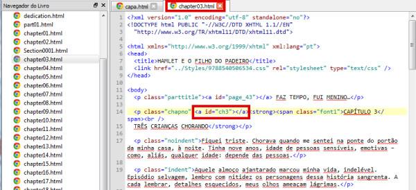 HTML e ids