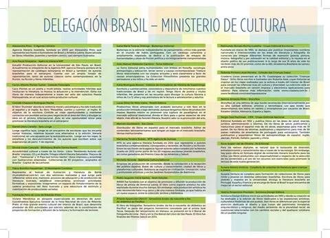 (Foto 1: Delegação brasileira do MinC)