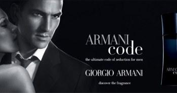 armani code ad