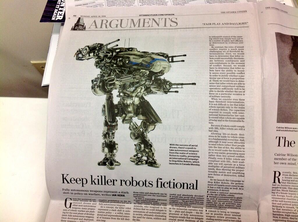 Foto Campaign to Stop Killer Robots