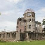 Memorial de la Paz de Hiroshima. Este domo, que otrora funcionó como centro de exhibiciones, fue de los pocos edificios que quedó en pie tras la detonación de la bomba nuclear el 6 de agosto de 1945. Foto: ICAN