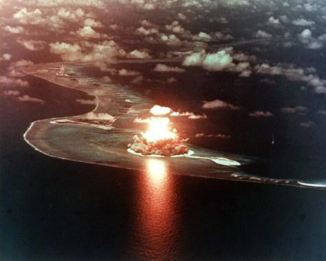 Ensayo nuclear estadounidense sobre el atolón Eniwetok (Islas Marshall), 1956
