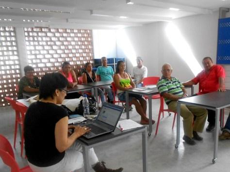 Taller de capacitación con sobrevivientes en San Carlos (Antioquia)