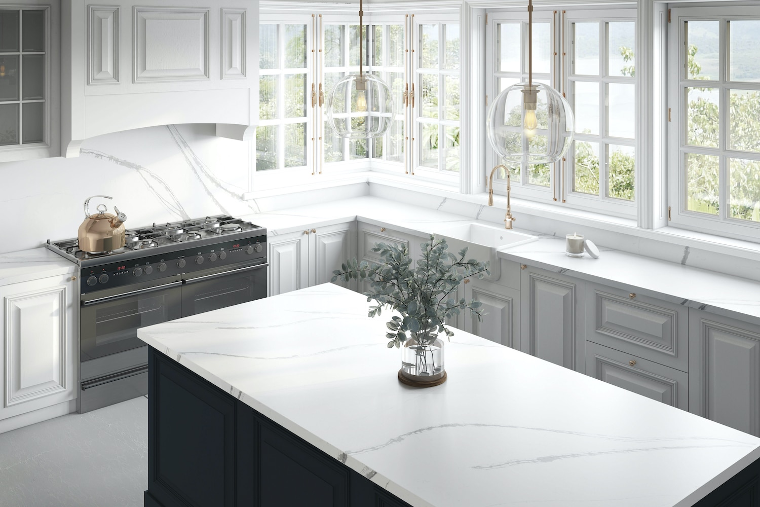 Eternal Bella Quartz Countertops Colonial Marble Granite