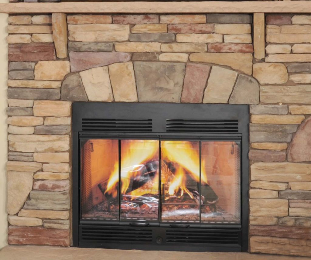 Fireplace Stone Half Stack Stone Fireplace Colony Homes