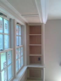 Custom Bay Window Seat with Built-Ins | Colony Home ...