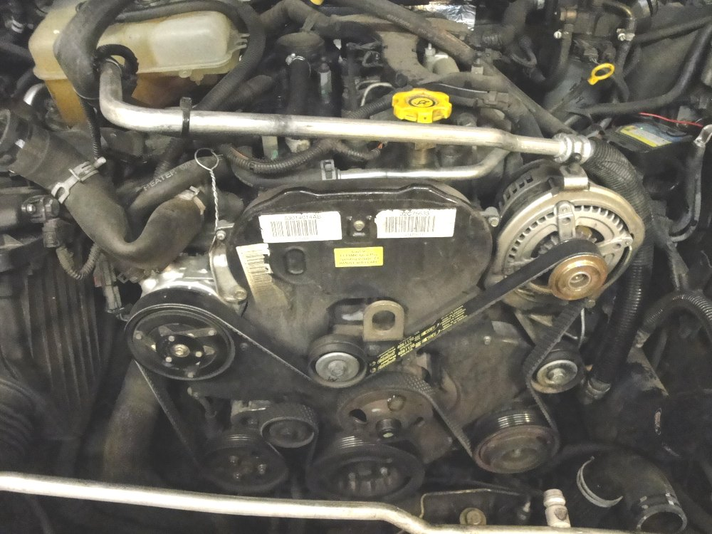 How To Guide Jeep Liberty 28 CRD Timing Belt Replacement