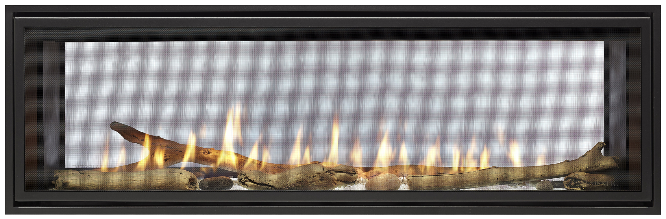 Glass Screen For Gas Fireplace Majestic 48