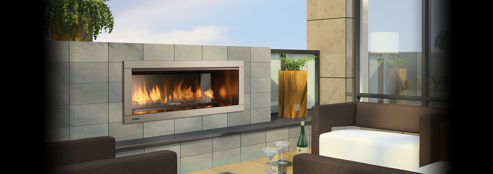 Outdoor Gas Fireplaces Regency Horizon Outdoor Gas Fireplace