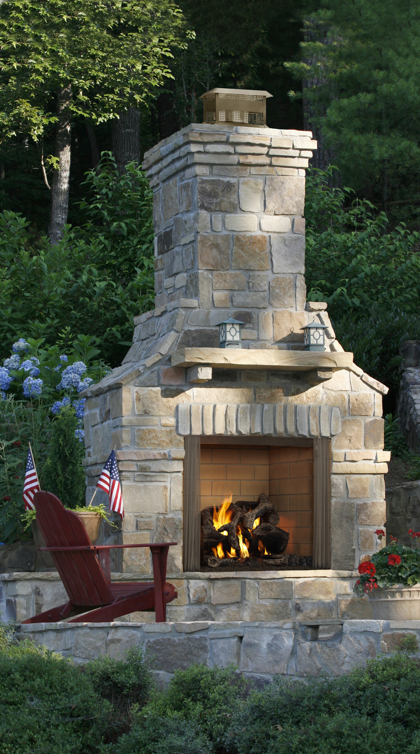 Majestic Outdoor Fireplace Majestic 42 Courtyard Outdoor Fireplace