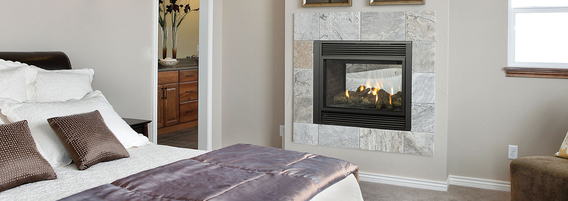 Gas Fireplace Store Regency Panorama See Through Direct Vent Gas Fireplace