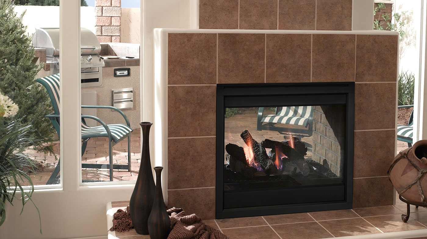 Majestic Outdoor Fireplace Majestic Twilight Ii Indoor Outdoor Vent Free Gas Fireplace