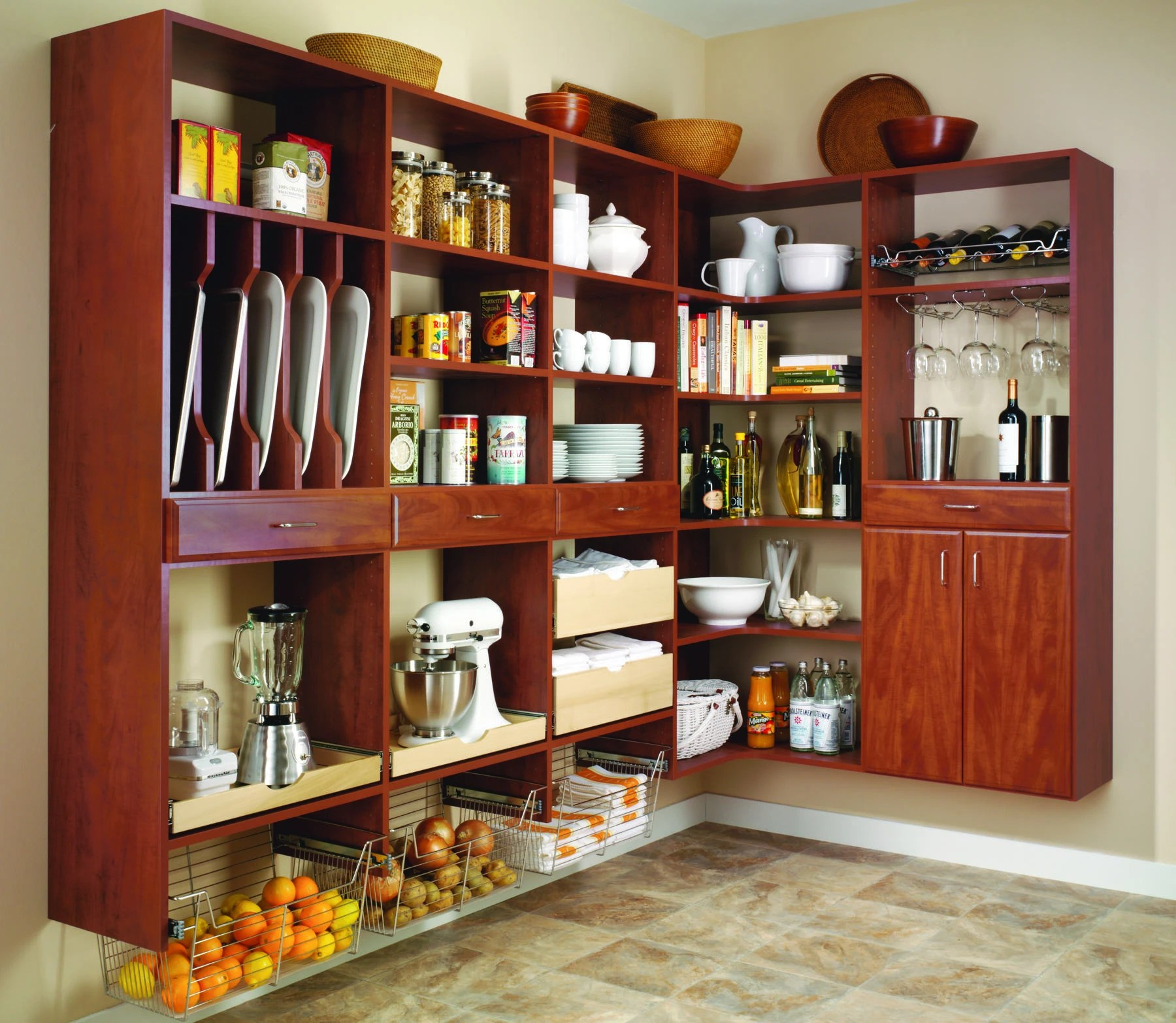 Custom Kitchen Pantry Cabinet Denver Pantry Cabinets Colorado Space Solutions