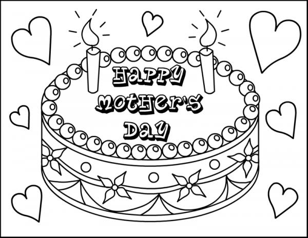 Comfortable Happy Mothers Day Dibujos Para Imprimir Y Colorear En ...