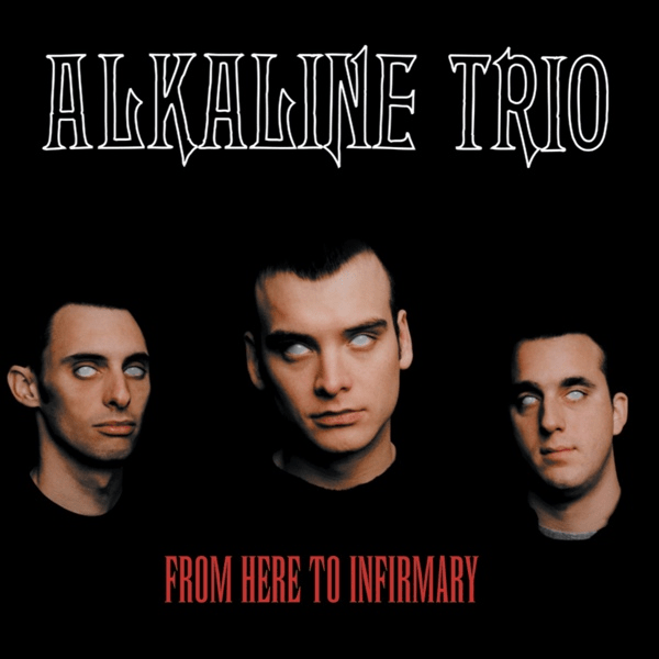 Rock Girl Wallpaper Alkaline Trio From Here To Infirmary Colored Vinyl