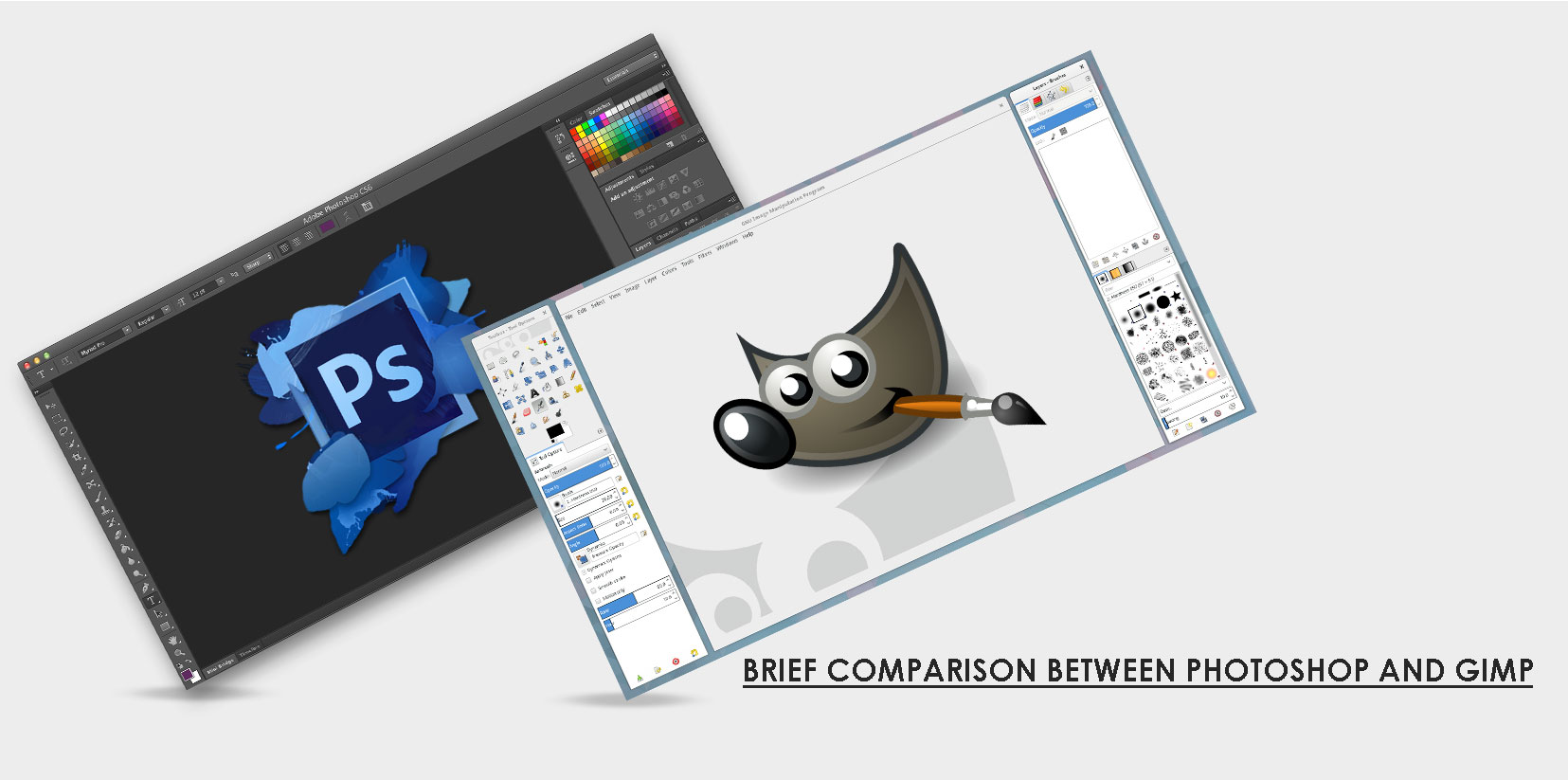 Gimp 2.0 Adobe Photoshop Vs Gimp Brief Comparison On Their Utility