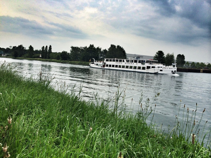 Radtour und Bootstour auf dem Dortmund-Ems-Kanal