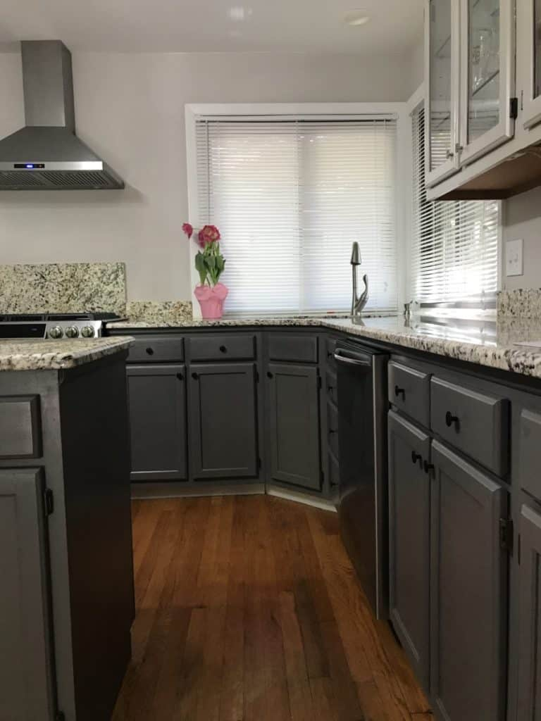 How To Paint Your Kitchen Cabinets Without Sanding And Priming Diy Colorful Designer