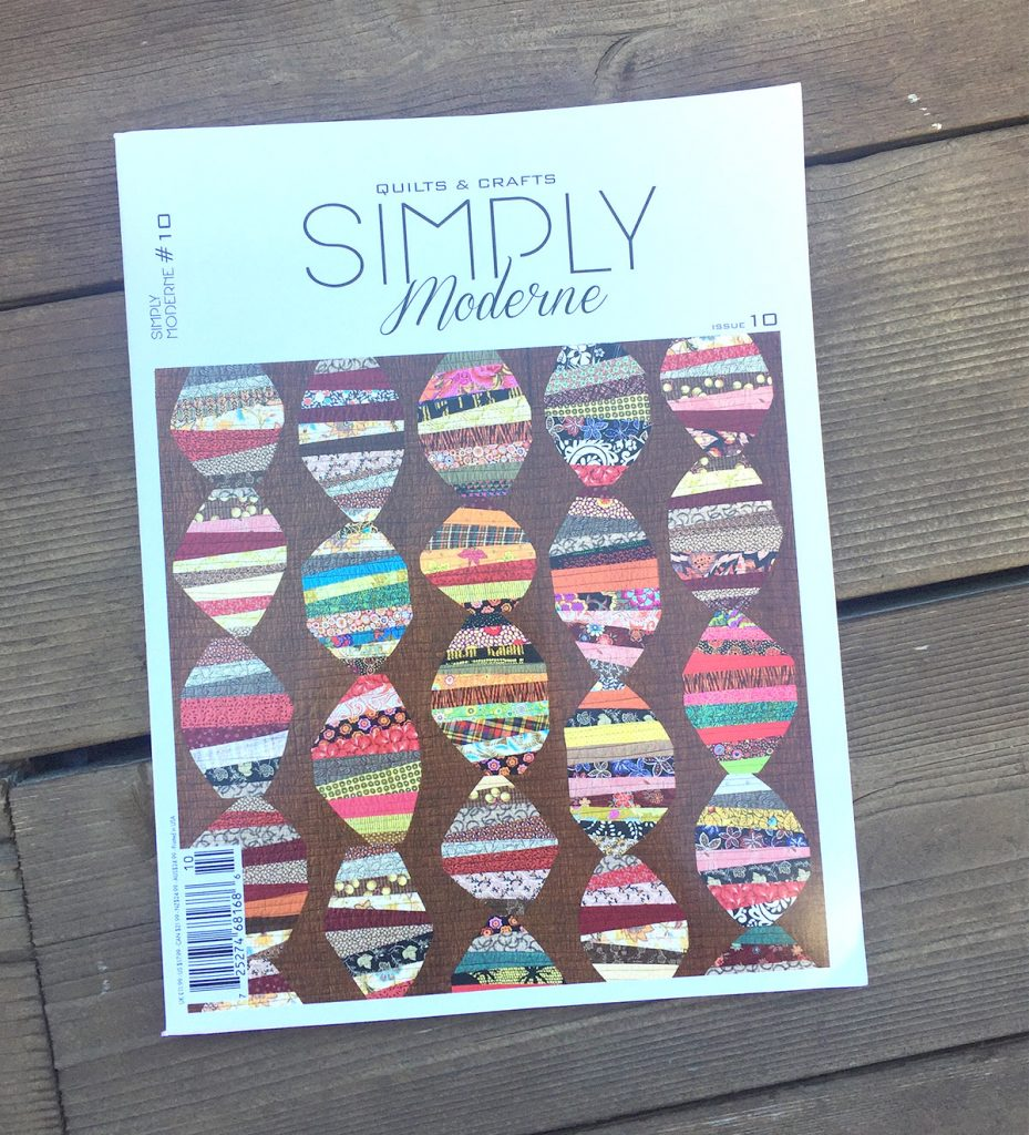 Moderne Quilts New Lagom In Simply Moderne Magazine Color Girl Quilts By