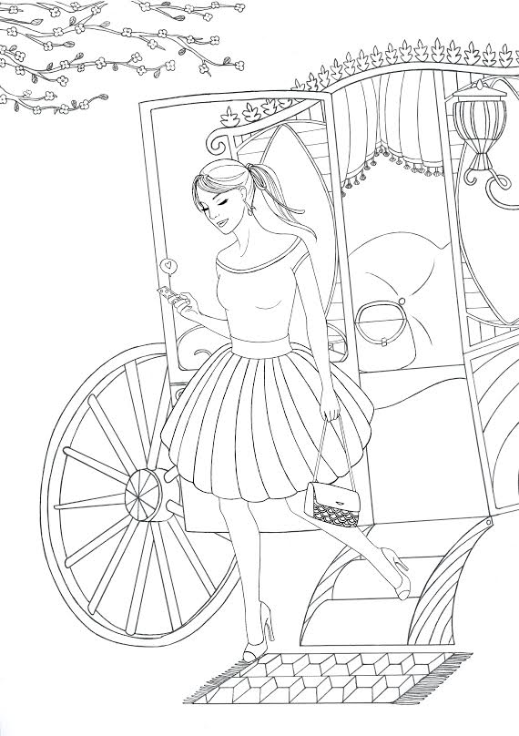 coloriage-rose-grey-illustrations