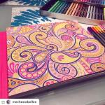 Bonne journe Insta !flicitation  mechesrebellee arttherapy arttherapie coloring colorshellip
