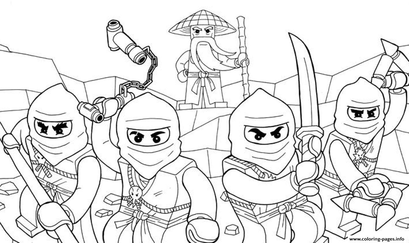 Awesome ninjago s07e6 coloring pages