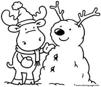 Printable Winter Sdbe6 Coloring Pages Printable