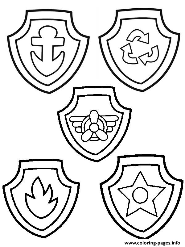 paw patrol badges coloring pages auto electrical wiring diagrampaw patrol badges coloring pages