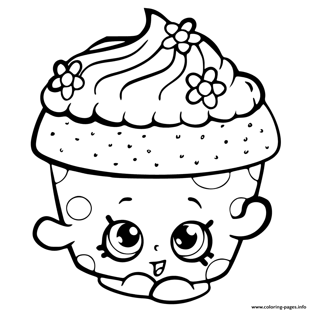 Shopkins season 6 cupcake petal colouring print shopkins season 6 cupcake petal coloring pages